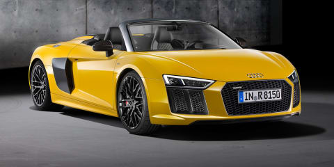 2017 Audi R8 V10 Spyder unveiled at New York motor show