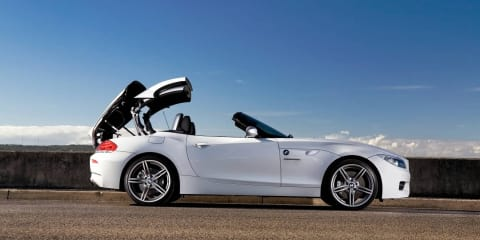 BMW Z4 gets four-cylinder turbo engine, available from November