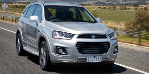 2016 Holden Captiva pricing and specifications
