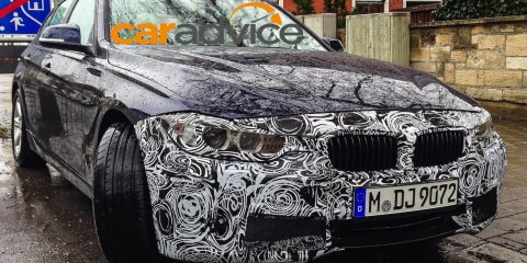 BMW 3 Series :: mid-life facelift spied
