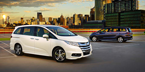 2014 Honda Odyssey priced from $38,990