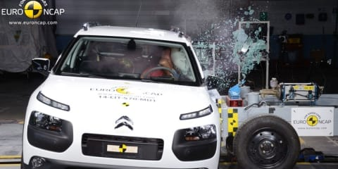 Euro NCAP: Citroen C4 Cactus scores four stars; Mercedes-Benz V-Class and Nissan X-Trail achieve five