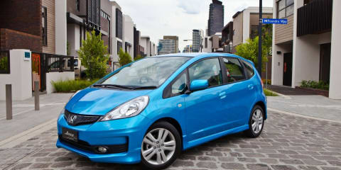 2011 Honda Jazz facelift on sale in Australia