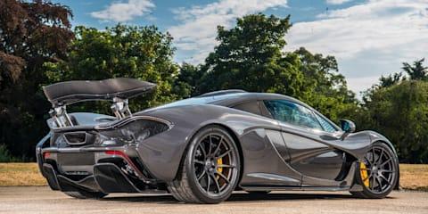 Jenson Button's McLaren P1 up for sale