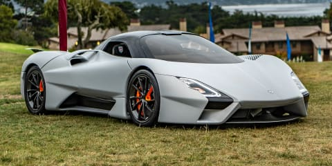 SSC Tuatara revealed, chasing 480km/h top speed
