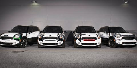 MINI Countryman KISS editions on eBay for charity