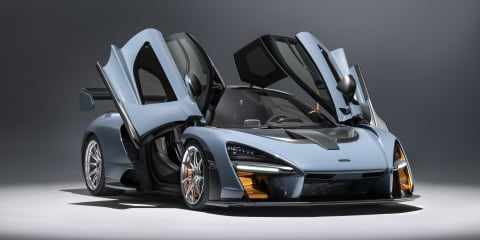 Bruno Senna tests the McLaren Senna - Video
