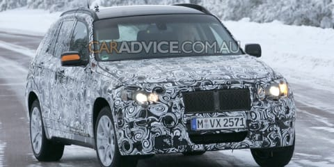2010 BMW X1 SUV spied
