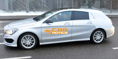Mercedes-Benz CLA Shooting Brake: compact wagon spied
