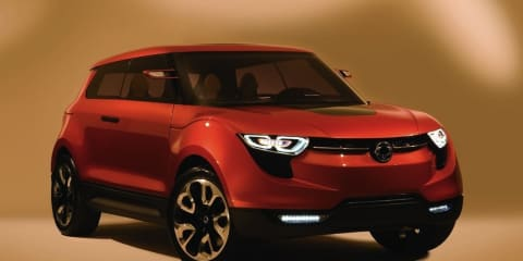 SsangYong XIV-1 Concept previews production model