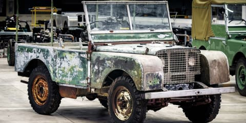 Land Rover begins preservation work on original 4x4
