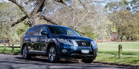 Nissan Pathfinder Hybrid Ti Review