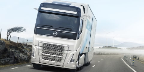Volvo Trucks concept claims 30 per-cent fuel saving
