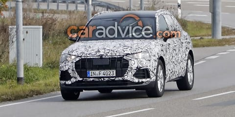2018 Audi Q3 spied in Germany