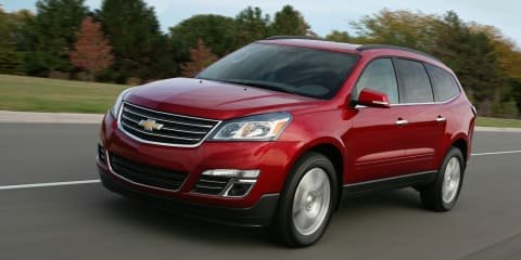 Chevrolet Traverse released with industry-first front centre airbag
