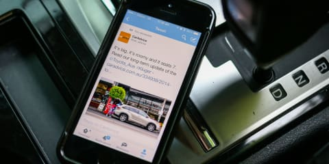 Your car can talk - in 140 characters or less