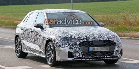 2019 Audi S3 Sportback spied