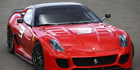 Ferrari releases more 599XX details