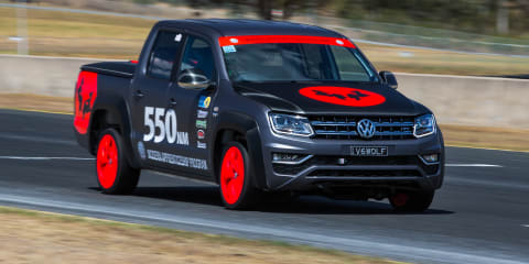 Volkswagen Amarok V6 sets record at WTAC