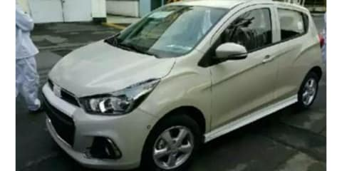 New Barina Spark spotted in Korea ahead of Q1, 2016 Australian debut - UPDATE