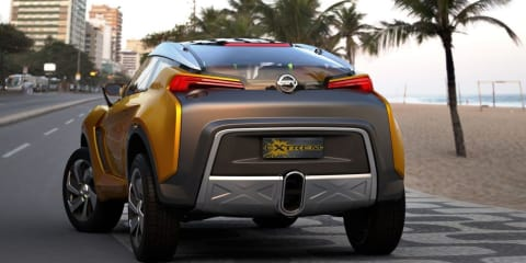 Nissan Extrem concept previews dramatic compact crossover