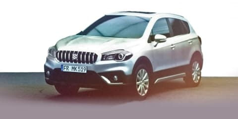 2017 Suzuki S-Cross facelift in Australia later this year, bad seat stitch halts local sales
