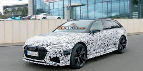 2020 Audi RS6 Avant spied