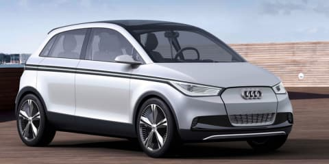 Audi A2 Concept revealed in first images