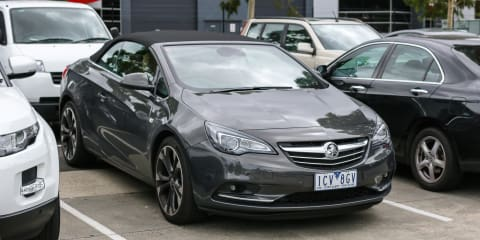 Holden-badged Opel Cascada spotted in Melbourne