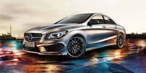 Mercedes-Benz CLA images leak