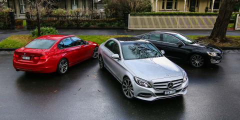 Luxury Sedan Comparison Final Round : Mercedes-Benz C-Class v BMW 3 Series v Volvo S60