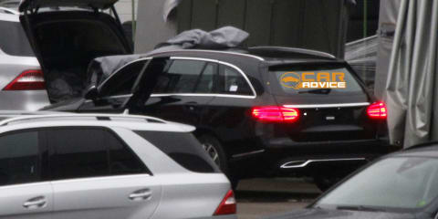 Mercedes-Benz C-Class Estate uncovered