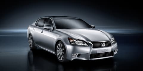 2012 Lexus GS 350 coming to Australia Q2 2012