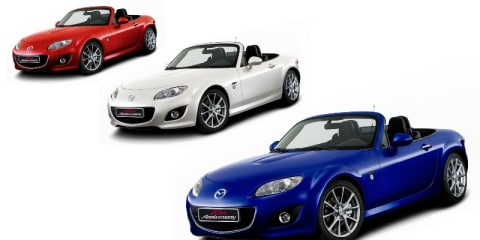 Mazda MX-5 20th anniversary to debut at Geneva Motor Show