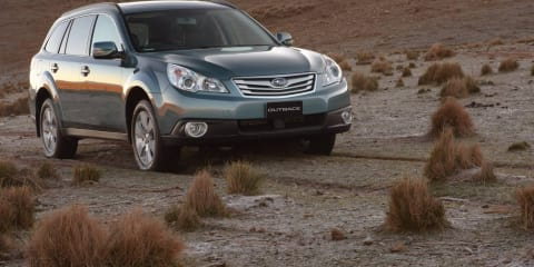 2011 Subaru Liberty, Outback available with Bluetooth across both ranges