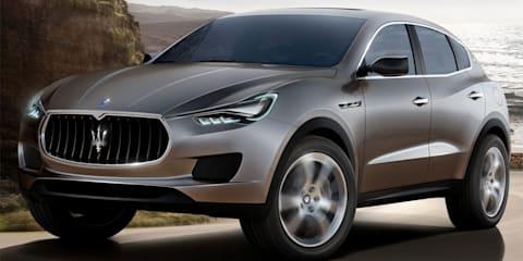 Maserati targets 50,000 sales with new SUV and sedan