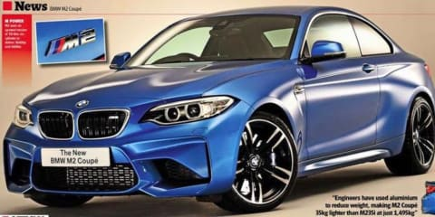 BMW M2 leaked ahead of debut