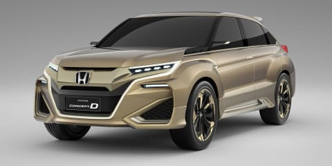 Honda Concept D revealed in Shanghai