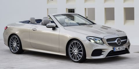 2018 Mercedes-Benz E-Class Cabriolet: Local pricing announced