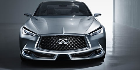 Infiniti Q60 concept : Twin-turbo V6 coupe has M4 in its sights