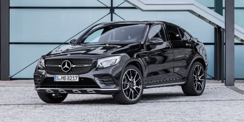 2017 Mercedes-AMG GLC43 Coupe revealed ahead of Paris debut