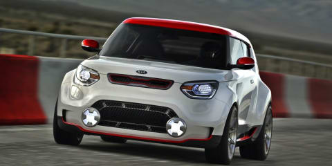 Kia Track'ster concept tests the water for Soul hot-hatch