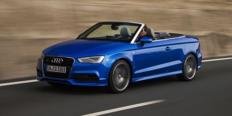 Audi A3 Cabriolet pricing confirmed : from $47,300