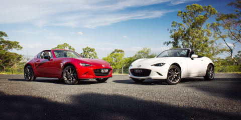 Mazda MX-5 RF vs Mazda MX-5 comparison