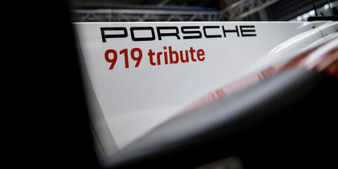 Porsche 919 tribute tour takes on New York City - video