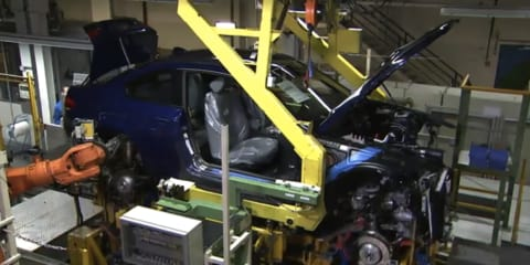 Video: BMW Plant Zero secret prototype building