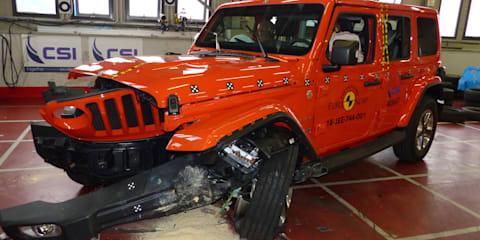 2019 Jeep Wrangler handed devastating 1 Star Euro NCAP result