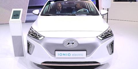 Hyundai Ioniq EV to boast 320km range from 2018