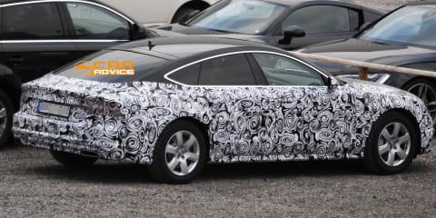 Audi A7 Sportback: facelifted luxury 'four-door coupe' spied
