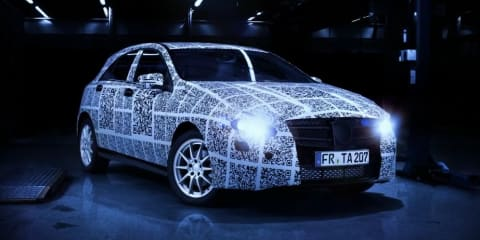 2012 Mercedes-Benz A-Class teased in competition video
